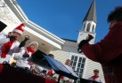 Bell ringers at Trinity Congregational church