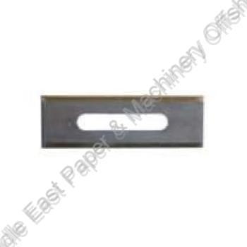 """Slotted Slitting Blade<br/>2.25"""" x .75"""" x .015"""""""