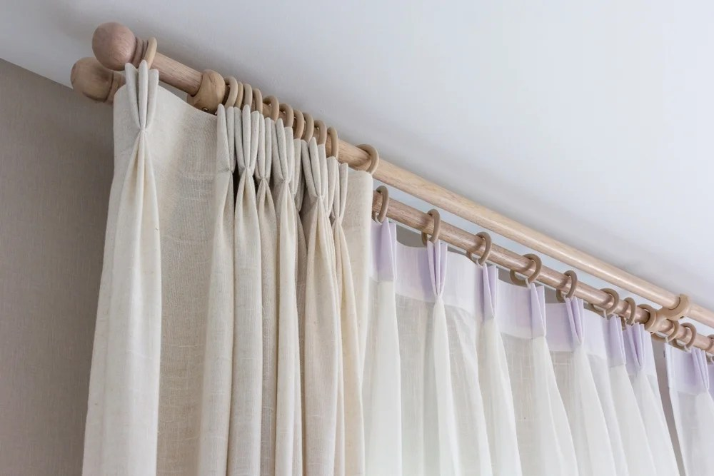 4 ideas para colgar cortinas en tu saln  Mi Decoracin