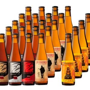 24 Cervezas artesanas Enigma DEGUSTACION