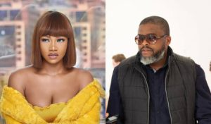 Larry Gaaga And Tacha Spotted In The Studio For A Music Project (Video)