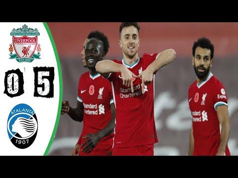 Liverpool vs Atalanta 5-0 - All Goals & Highlights 2020