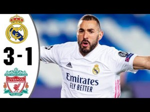 UCL: Real Madrid vs Liverpool 3-1 – Highlights