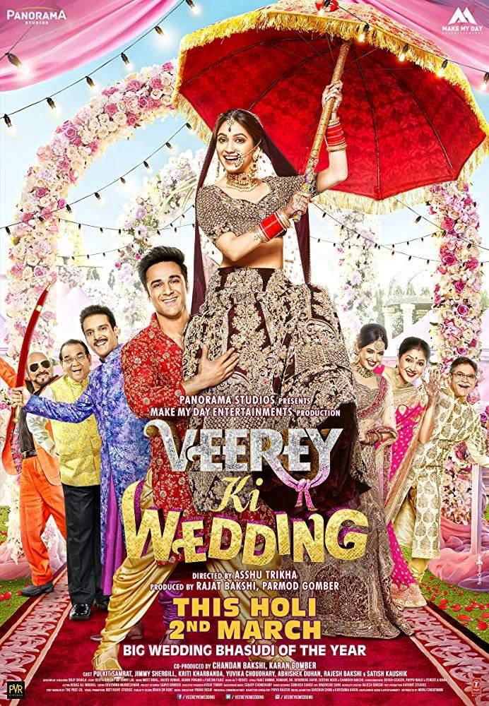 Veerey Ki Wedding (2018) [Indian]