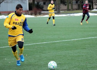 Gabriel Vittorio Da Silva playing with FC Vysočina Jihlava (Photo: FC Vysočina Jihlava)