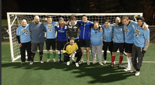 Fury FC Supporters Footy Sevens Team