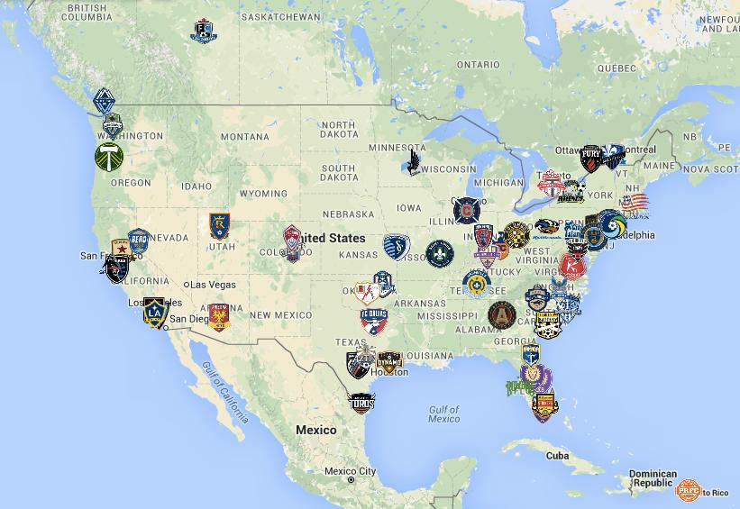 NASL, USL, MLS & CanPL Expansion News & Rumors Tracker – August 2016 Edition