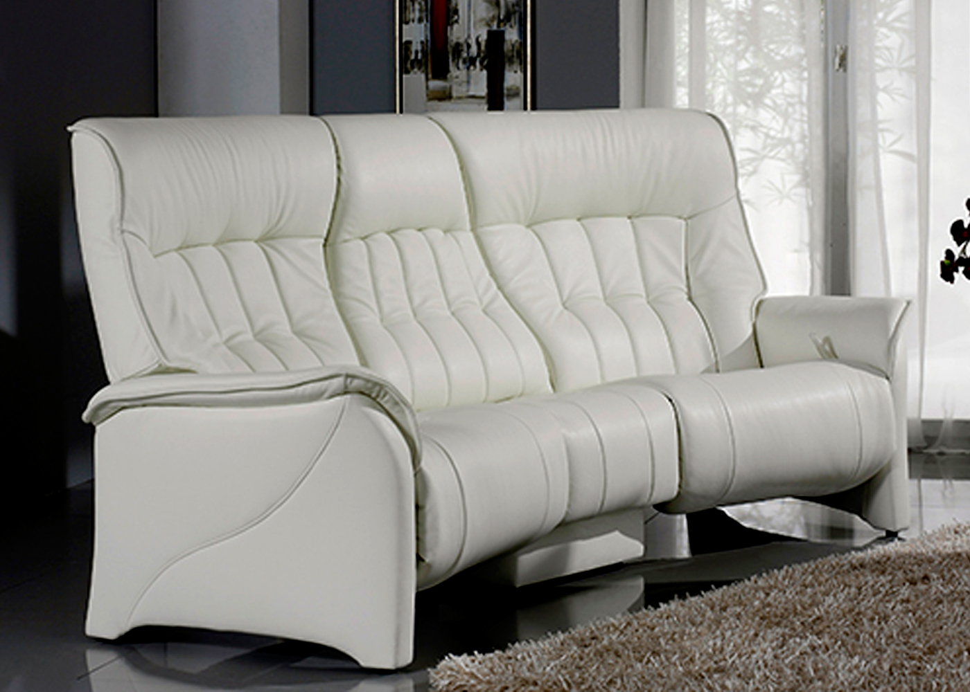Himolla Rhine 3 Seater Sofa  Midfurn Furniture Superstore