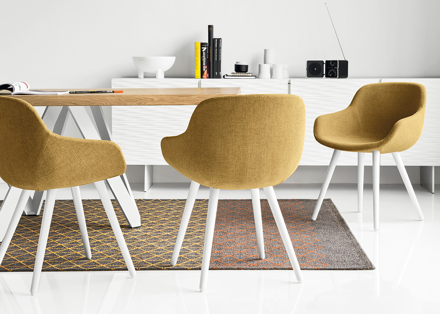 Calligaris Chairs Calligaris Igloo Chair Midfurn Furniture Superstore