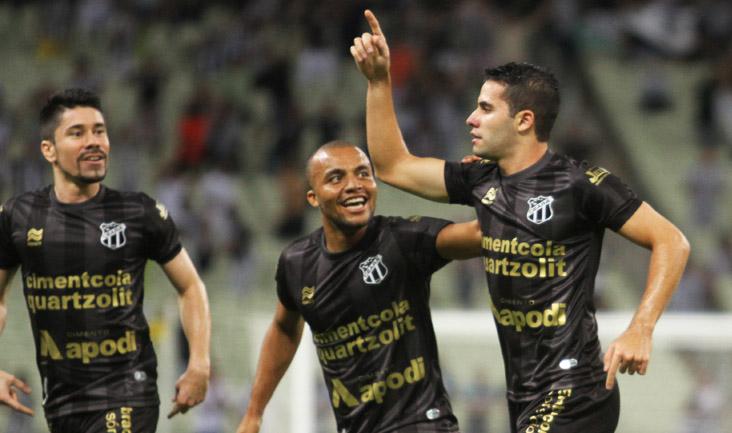 Inspirado em campo, Eduardo teve participação decisiva no jogo realizado na Arena Castelão