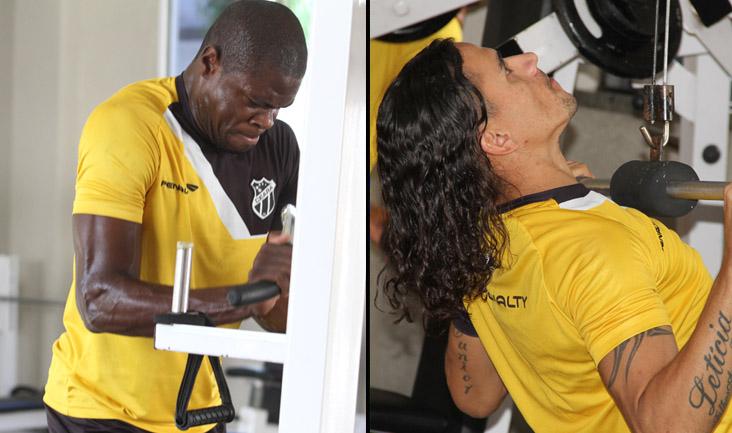 Diego Ivo e Vicente foram reavaliados pelo Departamento Médico (DM) nesta manhã