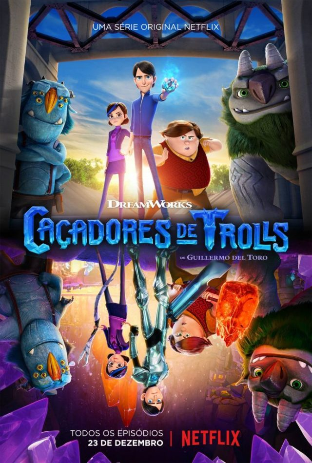 trolls-690x1024 Caçadores de Trolls: Série animada de Guillermo del Toro para a Netflix ganha trailer e data de estreia
