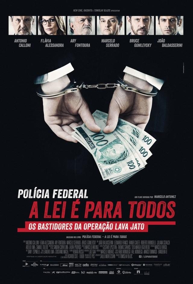 Cartaz-Pol%C3%ADcia-Federal-A-Lei-%C3%89-Para-Todos_0 Polícia Federal – A Lei é Para Todos | Trailer e cartaz do filme que conta os bastidores da operação 'Lava Jato' são divulgados