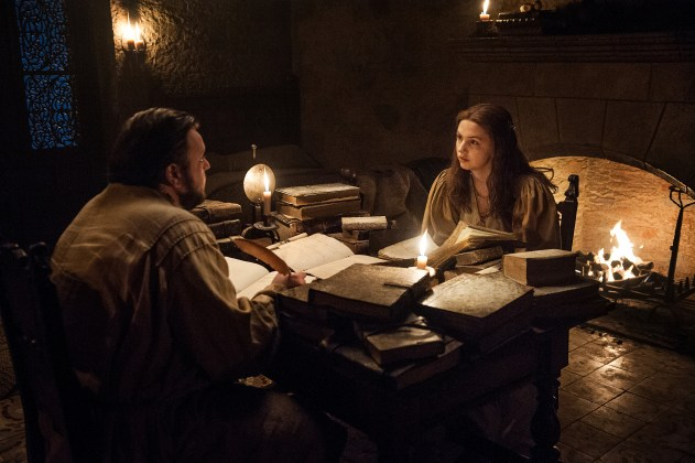 John-Bradley-as-Samwell-Tarly-and-Hannah-Murray-as-Gilly-%E2%80%93-Photo-Helen-Sloan-HBO HBO DIVULGA FOTOS INÉDITAS DO QUINTO EPISÓDIO DE  GAME OF THRONES