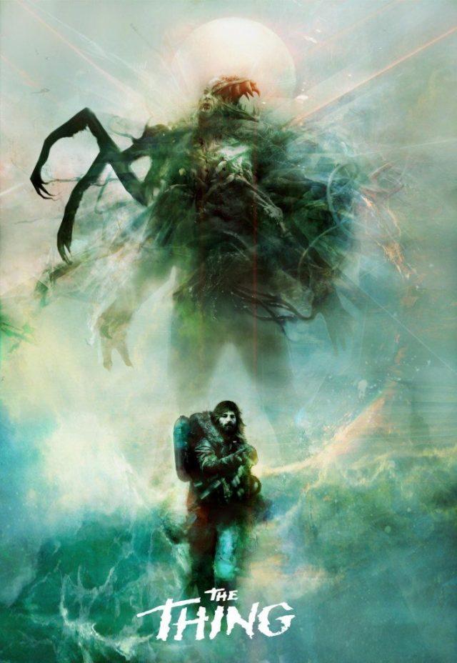 The-Thing-706x1024 Posters   Sucessos do cinema dos anos 80 e 90 ganham novos posters incríveis e sombrios