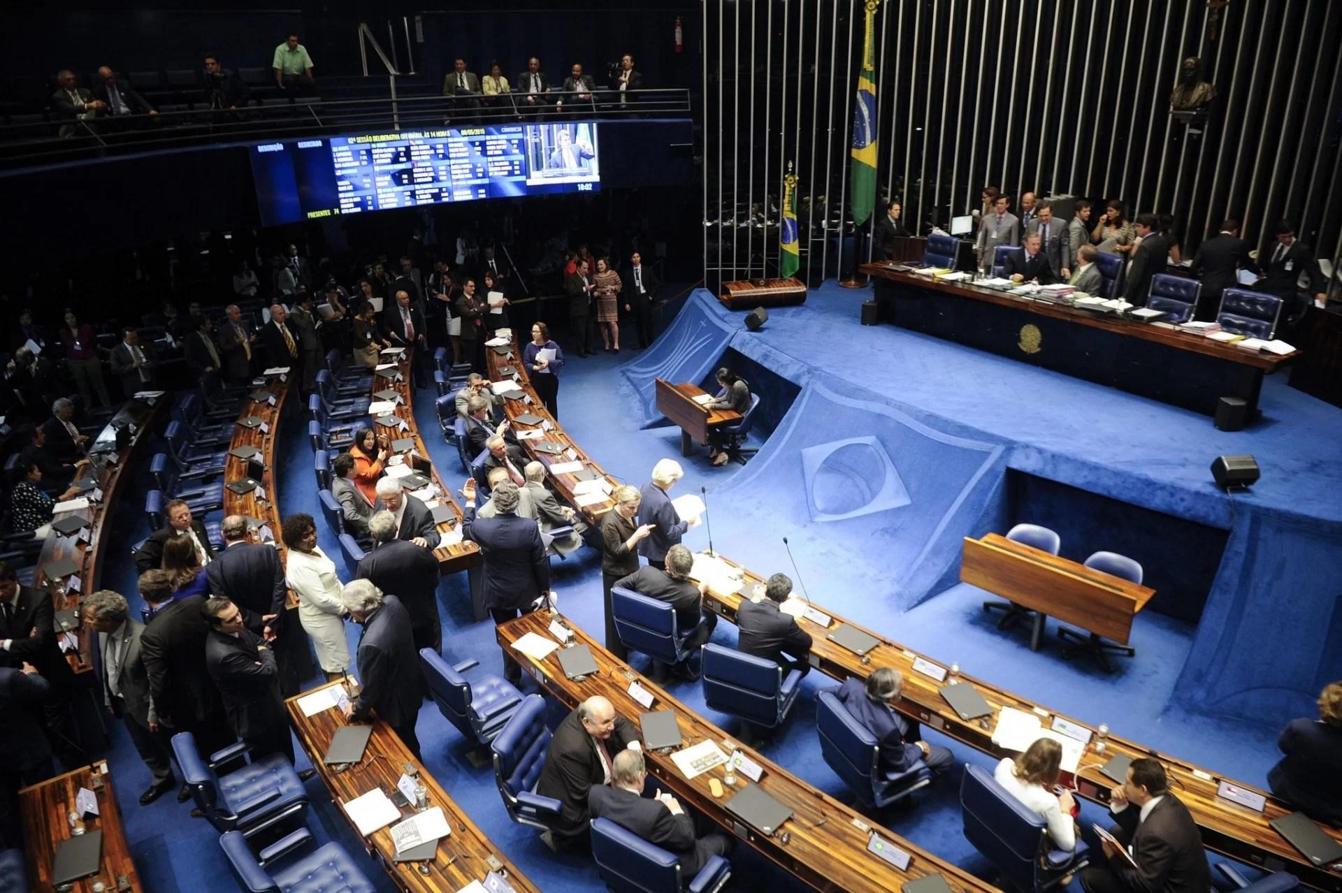 Senado Aprova Mp Que Repassa R$ 50 Bi Do Tesouro Para O