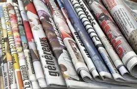 """jornais impressos - A """"bela homenagem"""" e a gafe jornalística"""