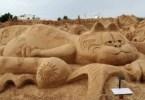arte arena de playa 14 500x332 - Lindas Esculturas de Areia - Parte #1