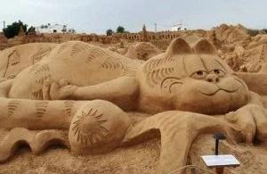 arte arena de playa 14 500x332 - Legolândia - O Sonho de tijolos