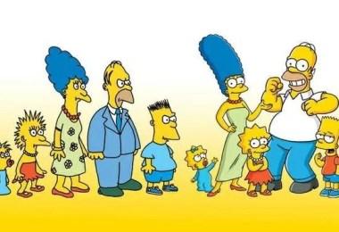 os simpsons antigosatuais - FOTOS: Como seria o futuro da família de Os Simpsons?