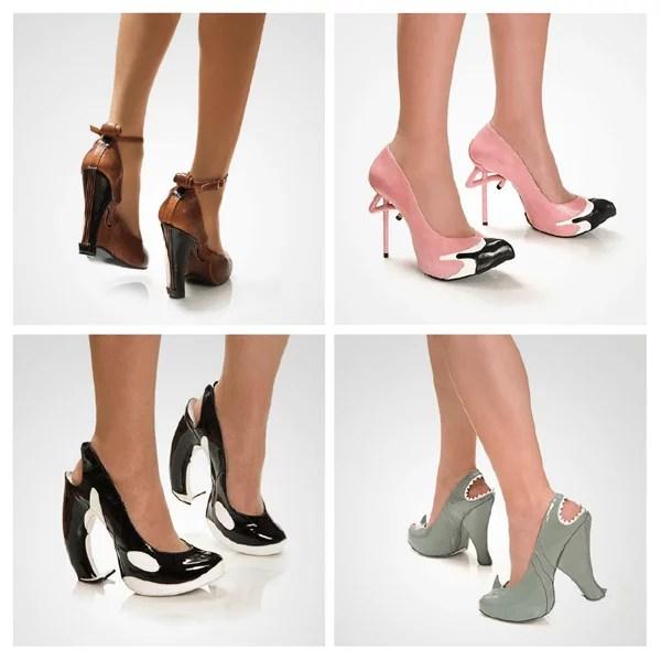 sapato - Fotos de diversos tipos de sapatos - Coleção de sapatos mais diferentes do mundo