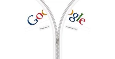 Google Homepage Becomes a Giant Zipper 2 - Brasília é homenageada pelo Google com traços de Oscar Niemeyer