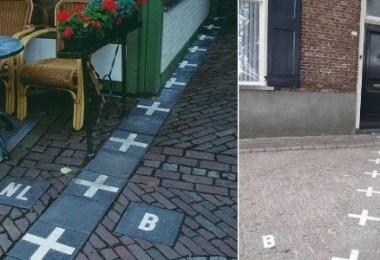 fronteiras contrastantes belgica e holanda 1436664518188 615x300 - Restaurante que faz divisa de países