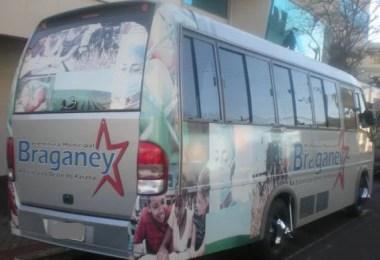 onibus corinthians corinthianos braganey paraguai ciudade del est - Corinthianos usam ônibus da prefeitura para ir a jogo no Paraguai