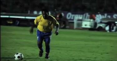 Pelé gol bicileta 70 anos