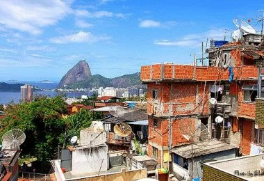contraste rio - Foto: Contraste do Rio de Janeiro