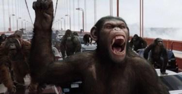 planeta dos macacos revolucão 1 - Em DeadPool 2 diretores fazem sátira ao Super Man