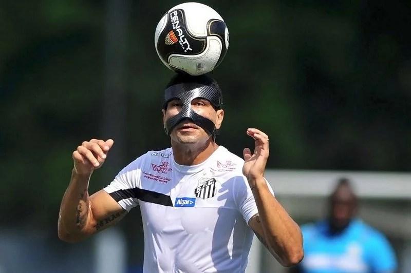 Mascarado Renato renova Santos final 2017 Futebol Latino 14 04