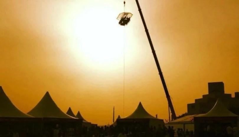sky dinner5 - Terias coragem de jantar a 50 metros de altura?