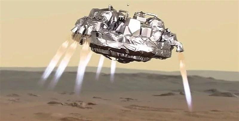 sonda schiaparelli marte - Canal Curioso explica o que aconteceu com sonda Schiaparelli em Marte