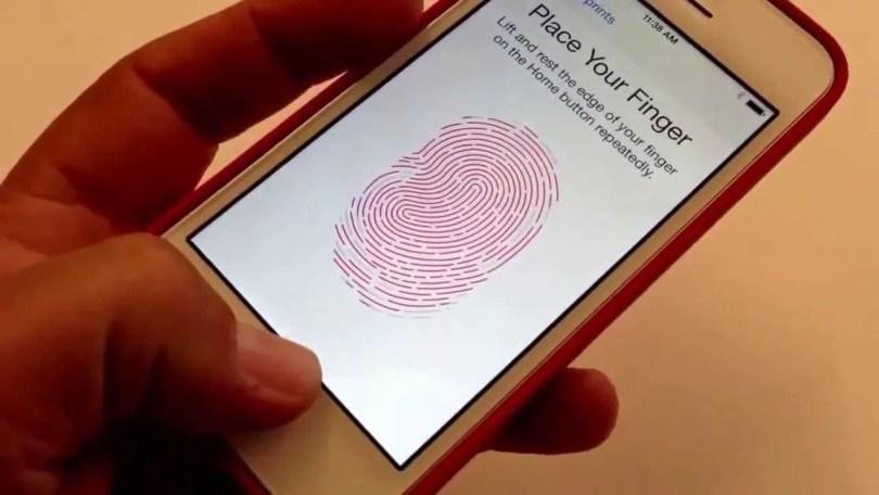 apple impressão digital - Apple estuda patente para o desbloqueio na tela utilizando a impressão digital