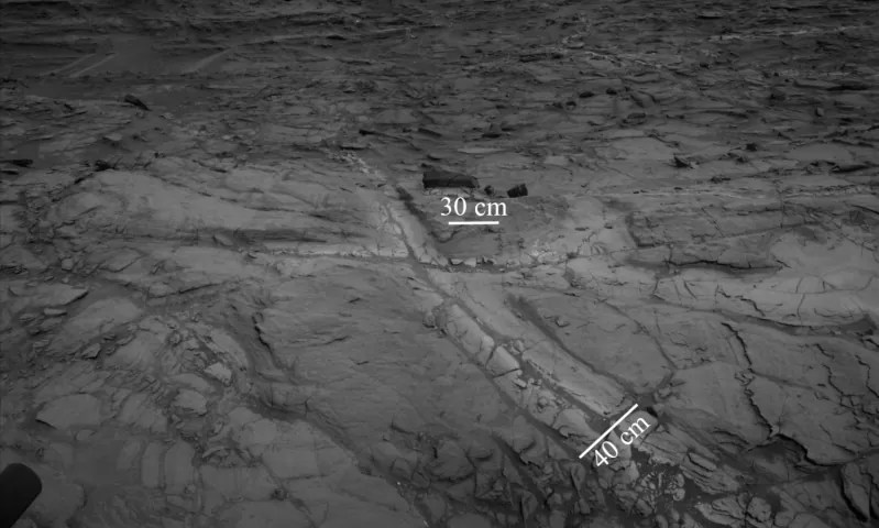 agua em marte 1 - Sonda Curiosity: Marte teve lagos e água quase pura para beber em uma data não longínqua
