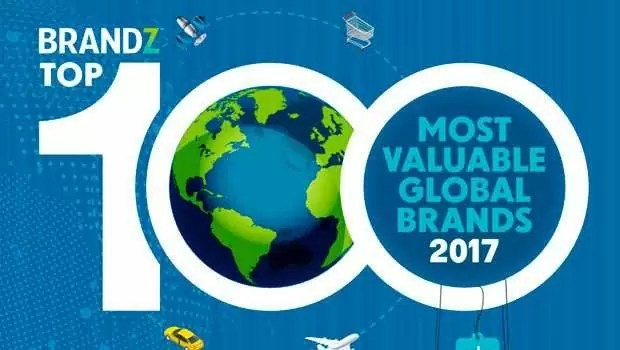 100 top brandz - As 100 marcas de maior valor do mundo em 2017