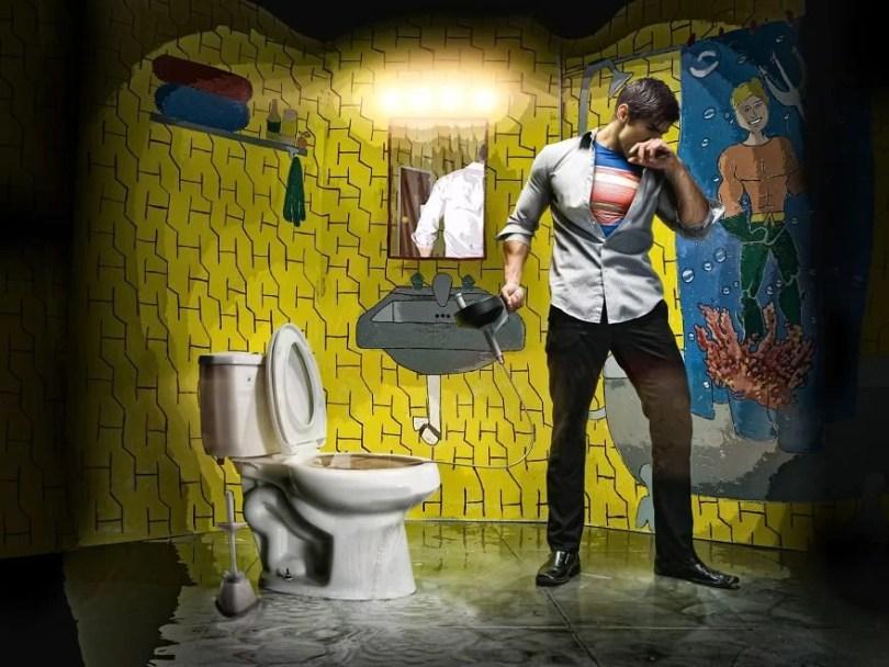 3 Superman 593848b50d20b  880 - 10 fotografias de uma coleção de arte que retrata heróis em situações humanas
