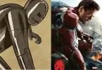 Avengers originales comparados con los poster de la película 6 730x500 650x445 - Fotos dos super-heróis da Marvel que foram copiadas dos quadrinhos