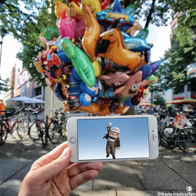 I Insert Movie Scenes Into Real Life Situations Using My Iphone 58aad9c047c50  700 - Imagens sobrepostas com celular – O resultado é bem divertido! (Parte 2)