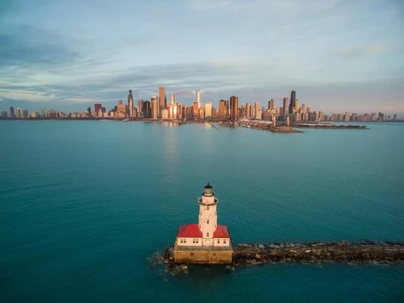 drone 20 Chicago From Above Awesome Bumblebee Photograph by Razvan Sera 5923e473c91fa  880 - Chicago e as novas perspectivas do olhar humano por Drones