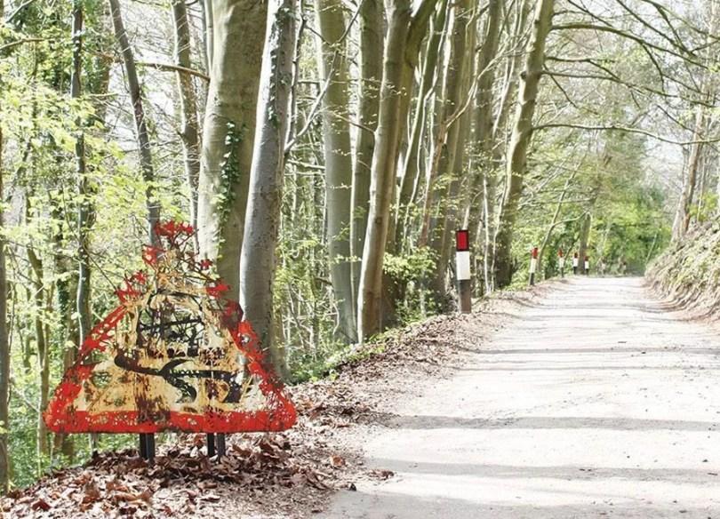 forests cut transit nature delivers dan rawlings 21 - Artista faz recortes em objetos inimagináveis