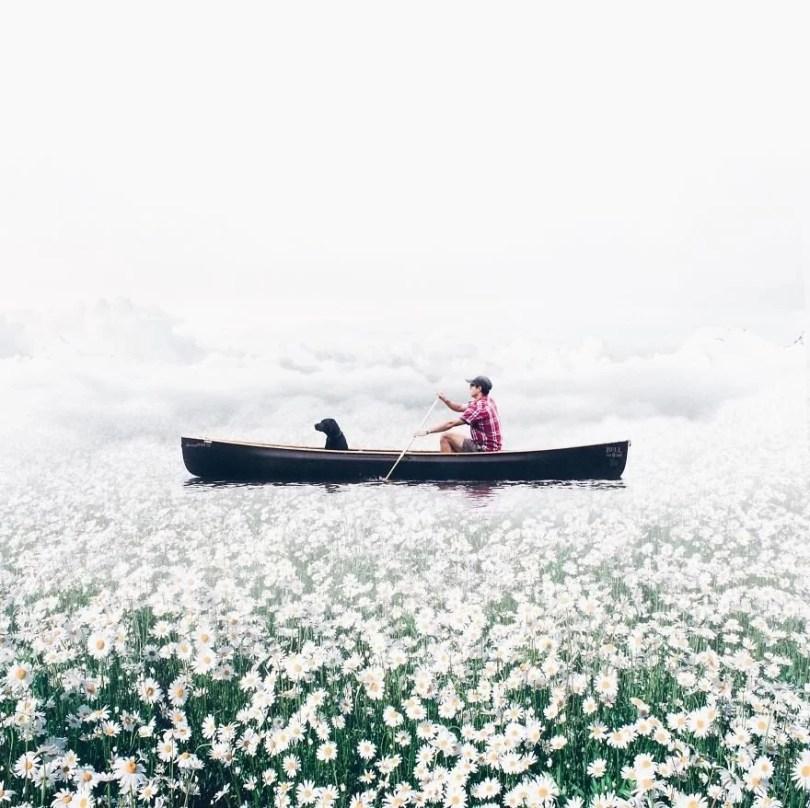 fotografia objetos inesperados para criar arte surreal7 - Menina usa edição no Photoshop para fazer imagens surreais