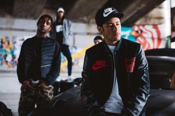 neymar mixtape nike playlist 01 - Neymar mita em comercial da Nike #NikeMixtape