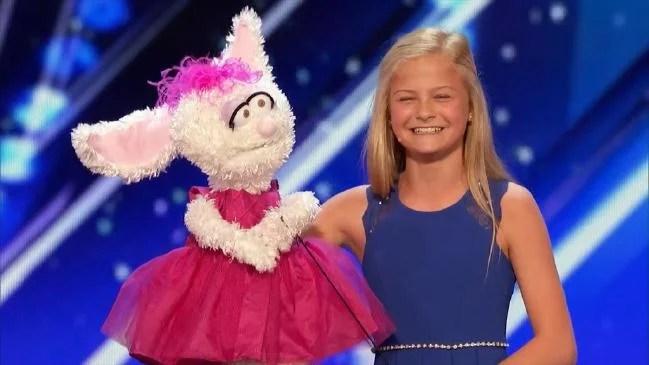 petunia Darcy Lynne - America's Got Talent: Garotinha ventríloca de 12 anos é aplaudida de pé