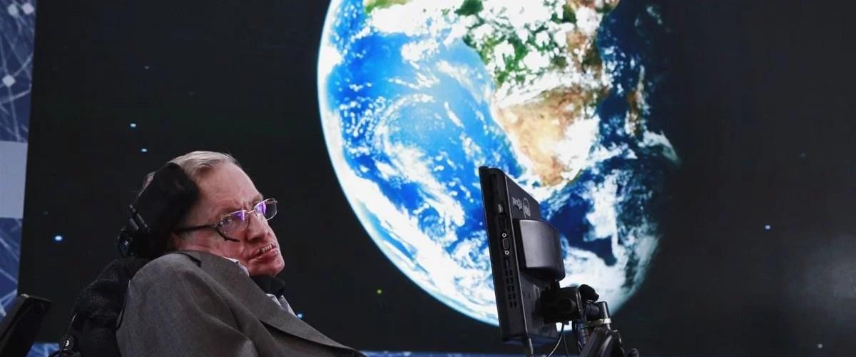 "steven hauken lua - Stephen Hawking: ""O homem deveria se espalhar pelo Universo"""