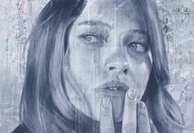 artista de rau desenha mulher - Artista pinta rosto de mulheres em casa que será demolida na Austrália