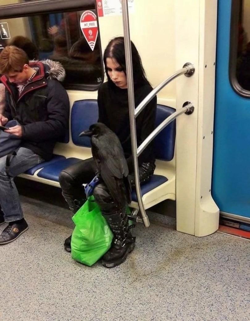 cotidiano no metro no mundo 3 - Metrô - Um lugar que se vê de tudo