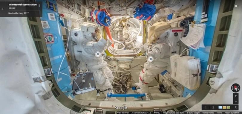 Fotos, Curiosidades, Comunicação, Jornalismo, Marketing, Propaganda, Mídia Interessante esa-street-view É possível ver a Estação Espacial agora no Google Street View Universo  Estação Espacial no Google Street View