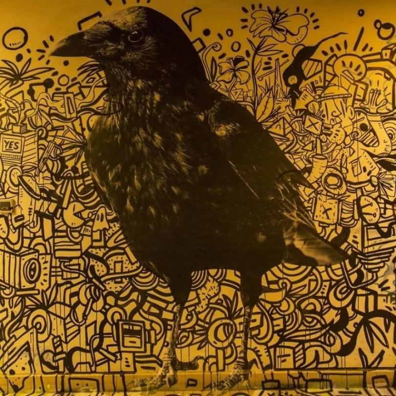 grafite pinturas artistas 16 - Grafiteiros pintam uma residência estudantil e o resultado chama atenção
